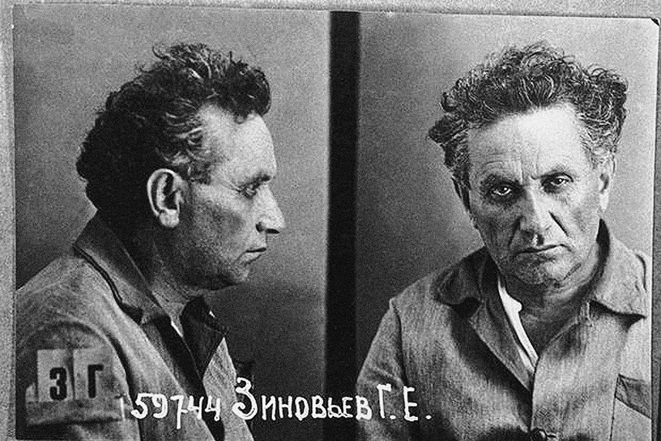 Il rivoluzionario e politico sovietico Grigorij Zinoviev. Fonte: Getty Images