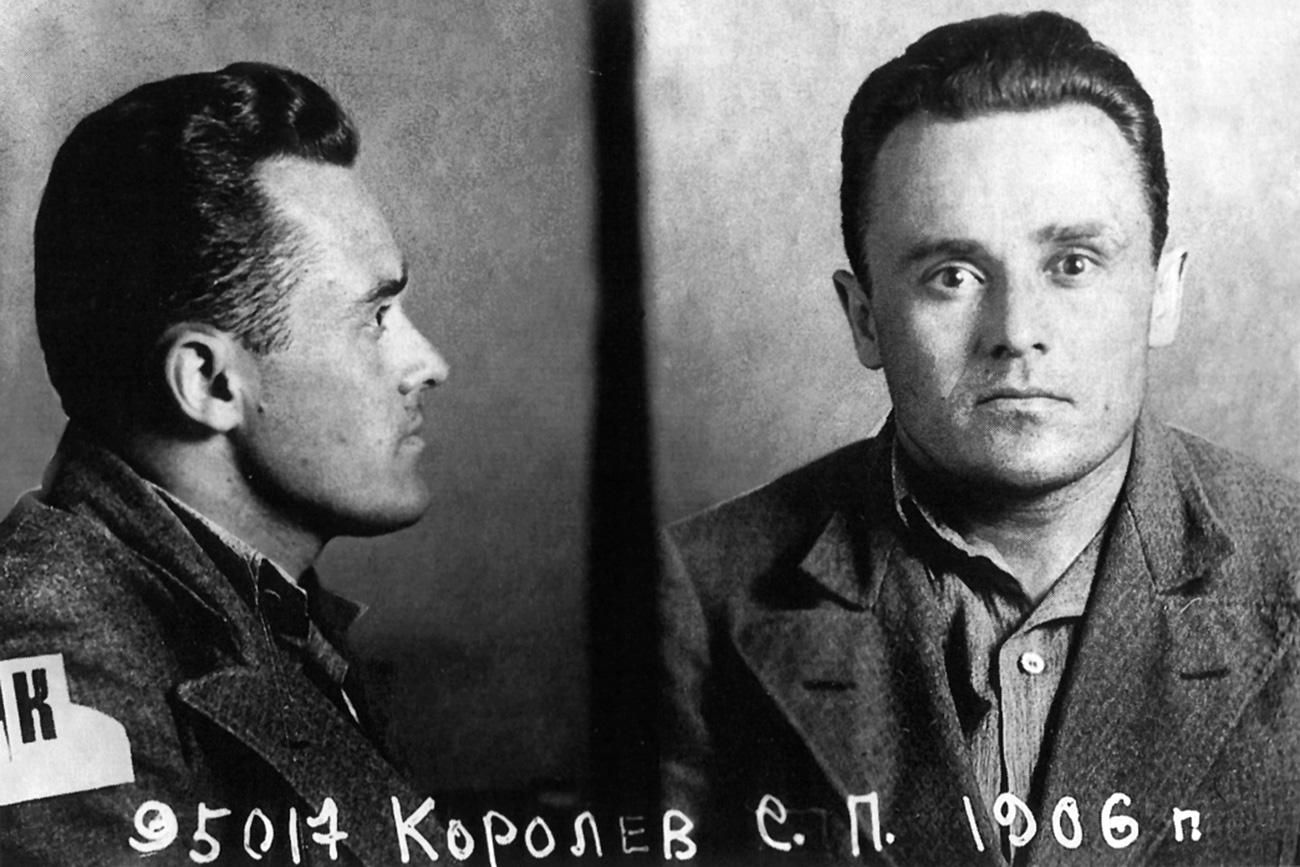 L'ingegnere sovietico Sergej Korolev in carcere, 1938. Fonte: archivio