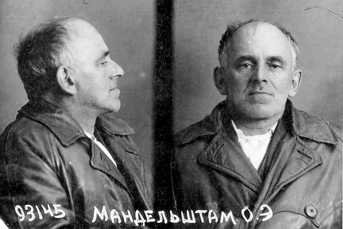 L'ultima fotografia dello scrittore Osip Mandelshtam, 1938. Fonte: archivio