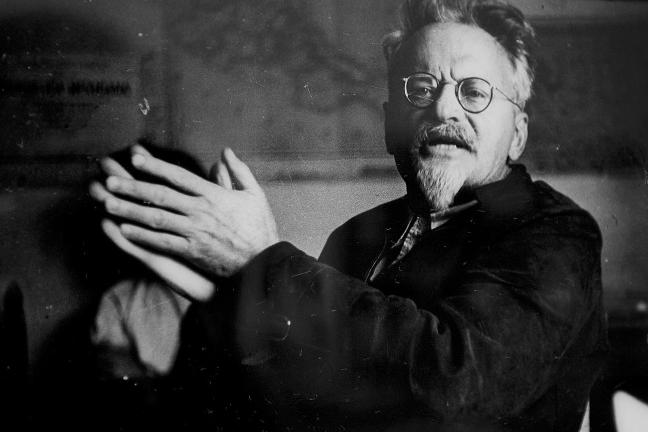 León Trotski. Fuente: DPA/Global Look Press