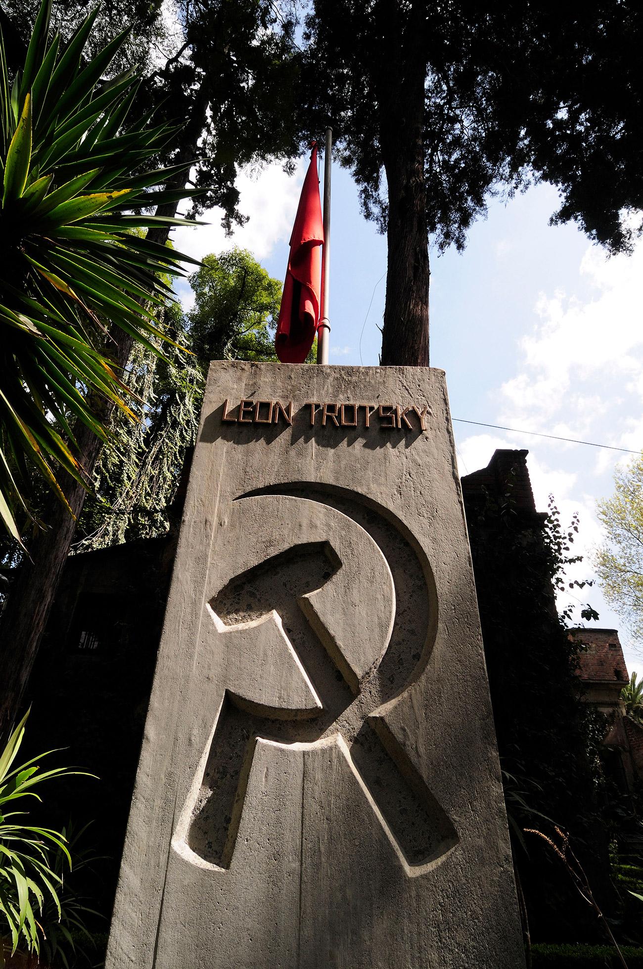 Sepultura de Trótski na Cidade do México (Foto: Arco Images/Global Look Press)