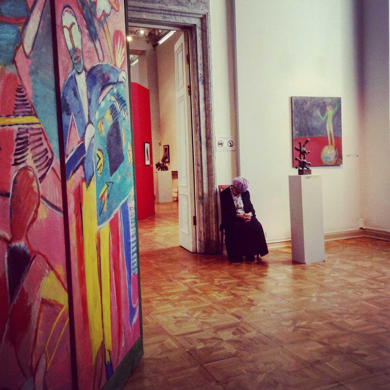 The sleeping beauty of the Russian Museum, St. Petersburg. Source: Elena Bobrova