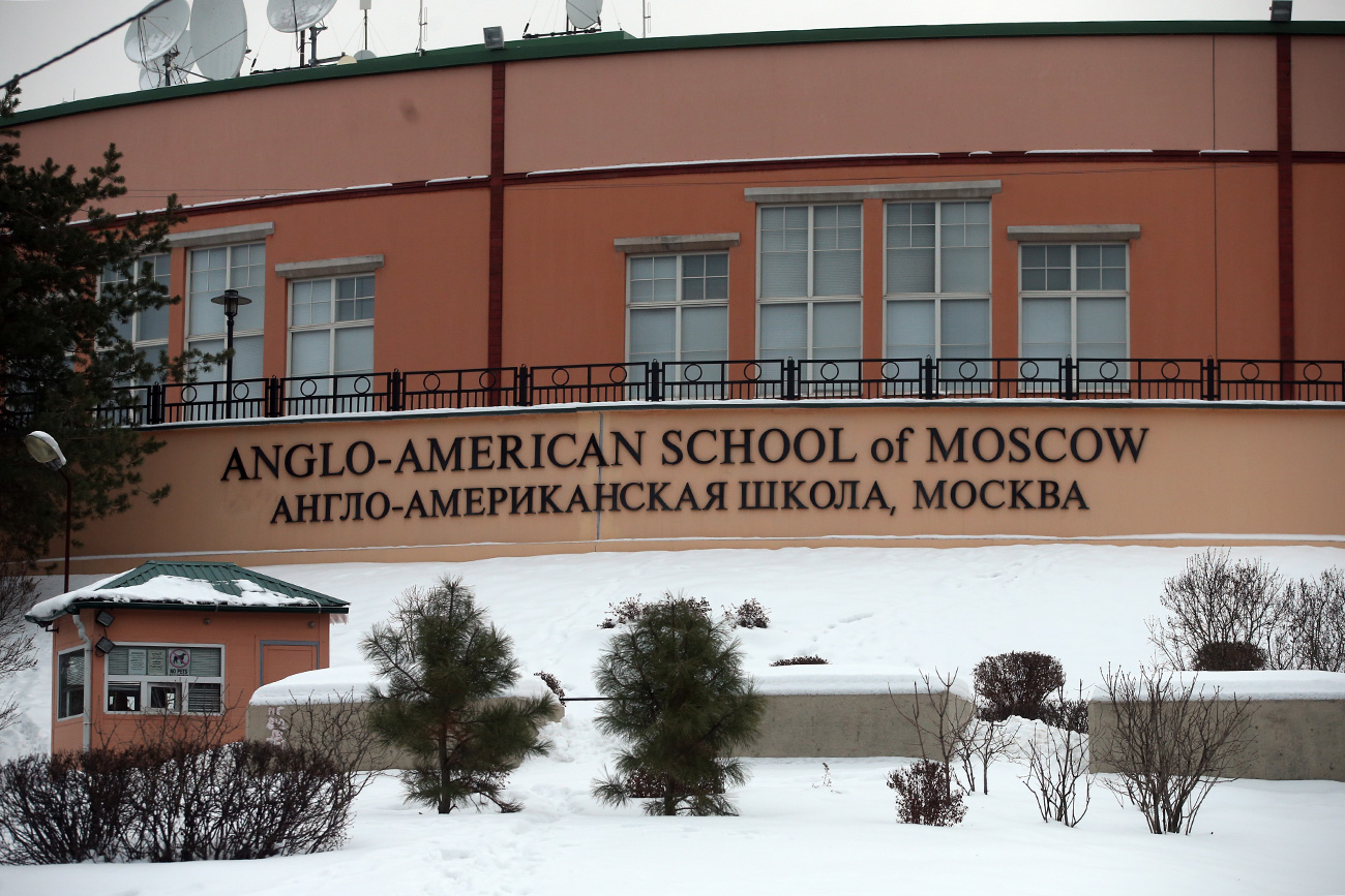 The school was founded in 1949, is located in the northwest of Moscow. Source: Artyom Korotayev/TASS