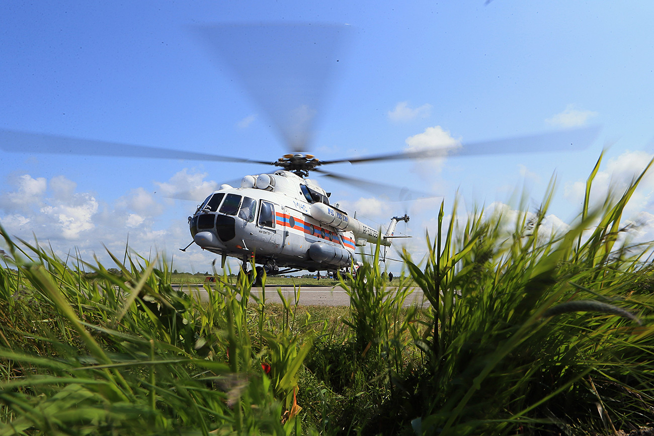 Emergencies Ministry helicopter