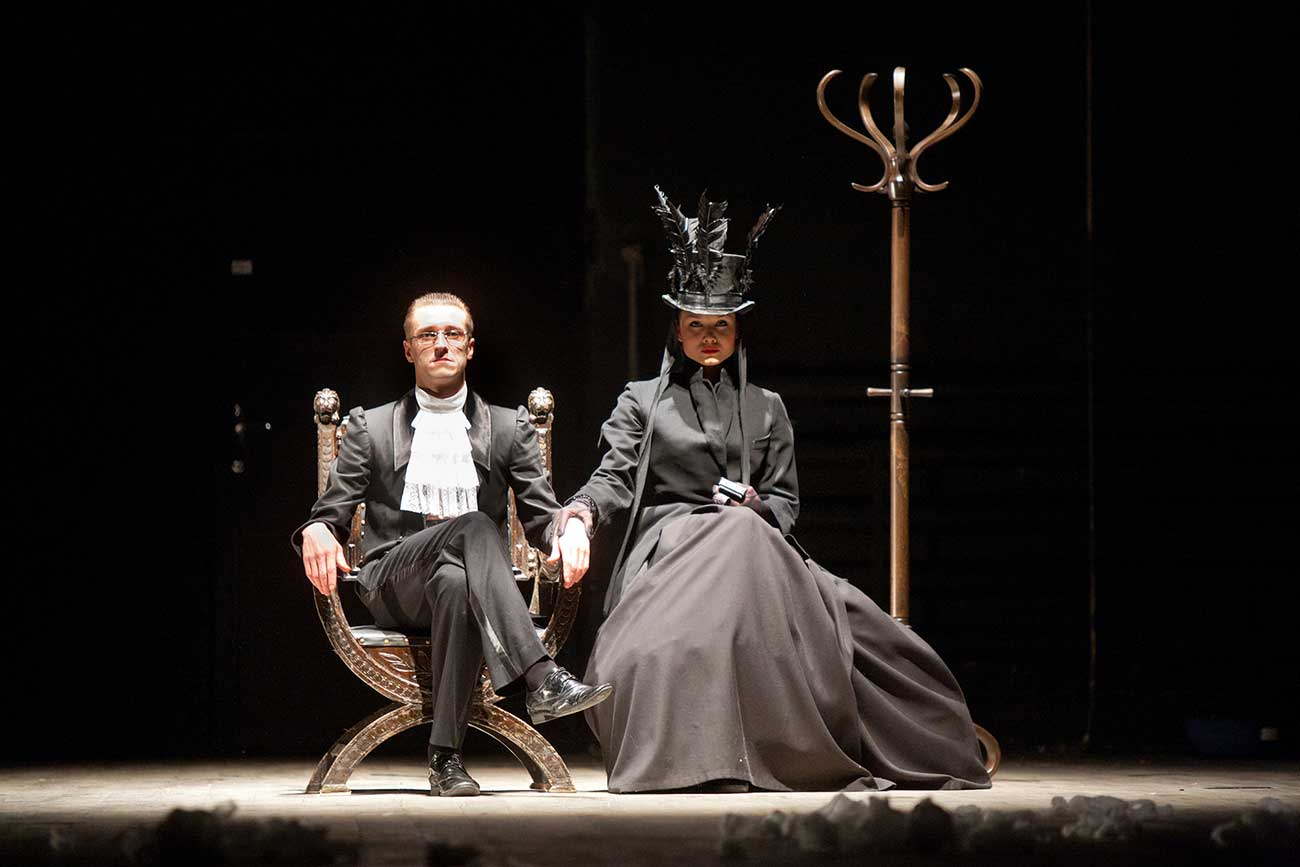 'Macbeth.Kino' by St. Petersburg State Academic Lensoviet Theatre / Press photo