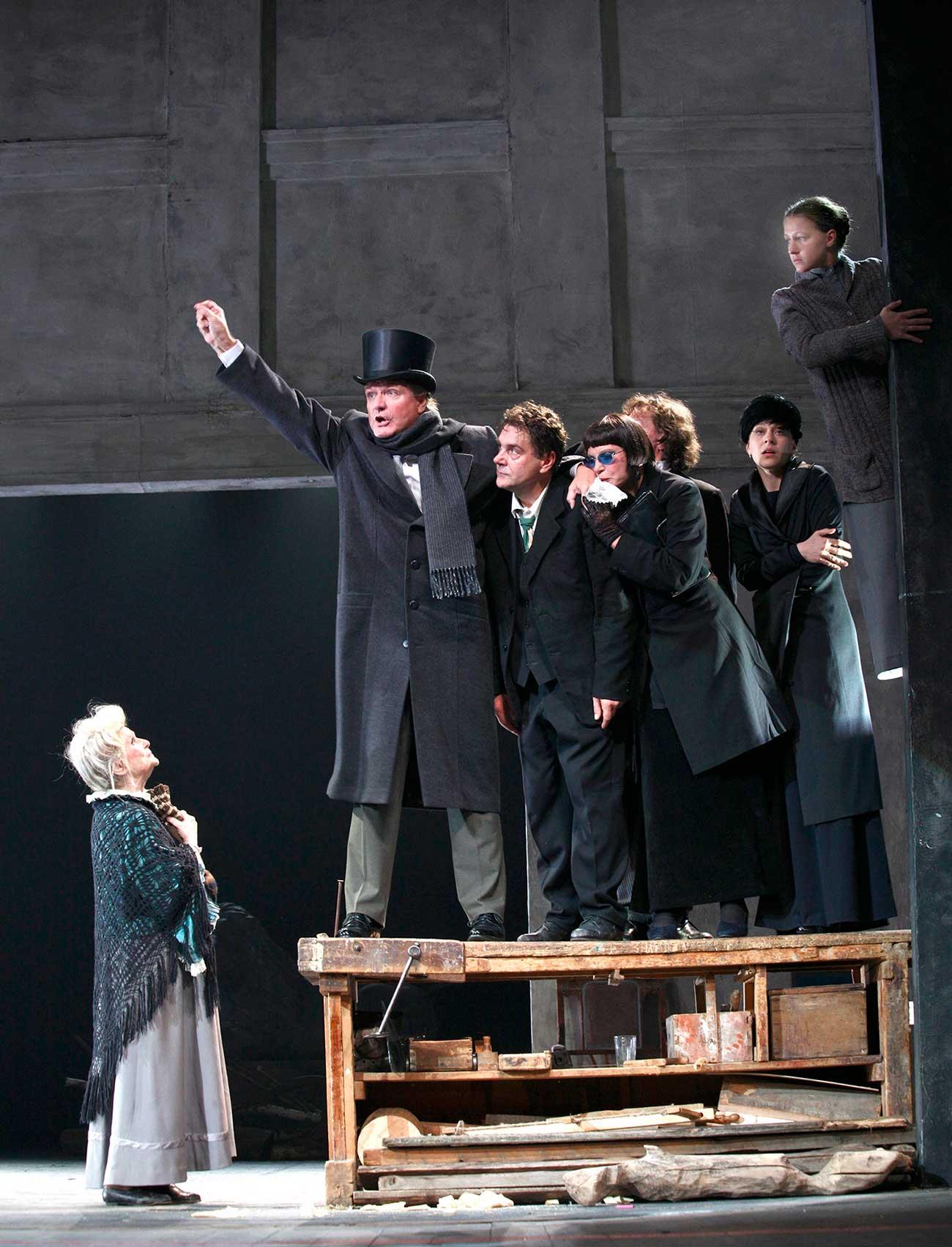 'Uncle Vanya' by the Vakhtangov Theater / Press photo
