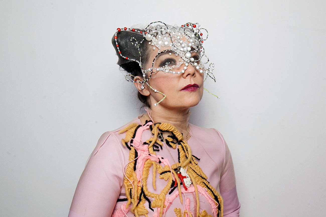 Bjork poses for a portrait in Montreal, Canada, 2016.