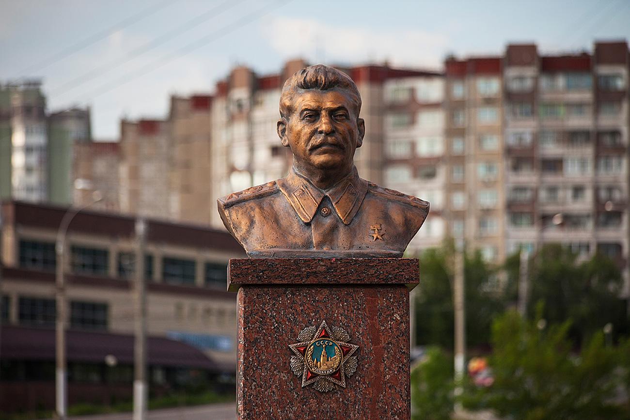 Липецк. Памятник И.В. Сталину