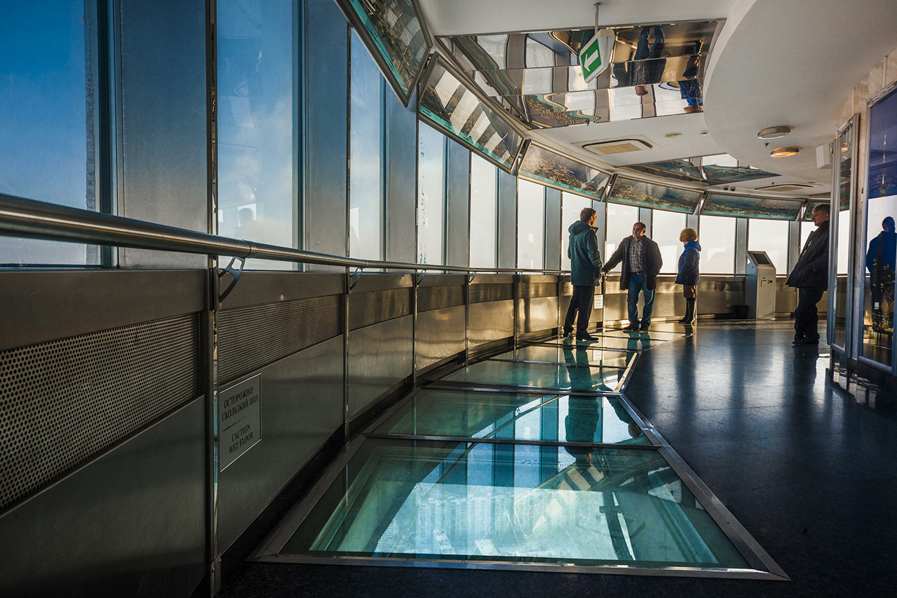 Ostankino Tower viewing platform, 340 m. / Konstantin Kokoshkin/Global Look Press