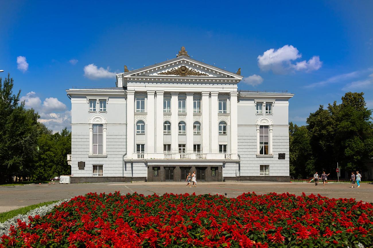 Il Teatro dell'Opera e del Balletto di Perm, attivo dal 1870, è ora diretto da Teodor Currentzis. Fonte: Oleg Vorobjov