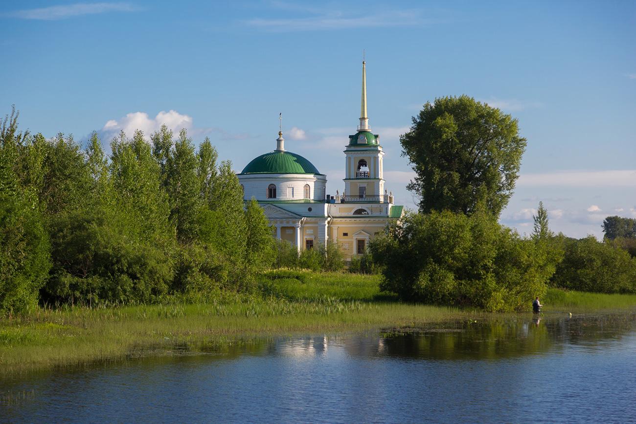 Usolje. La Chiesa di San Nicola. Fonte: Oleg Vorobjov