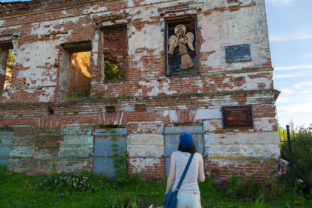 Usolje. Molti palazzi sono pittorescamente abbandonati alle erbacce. Fonte: Oleg Vorobjov