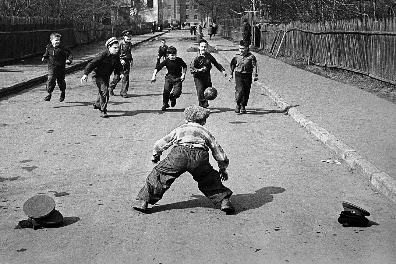 Primavera em Moscou. 1959. Foto: V. Kruglikov/RIA Novosti