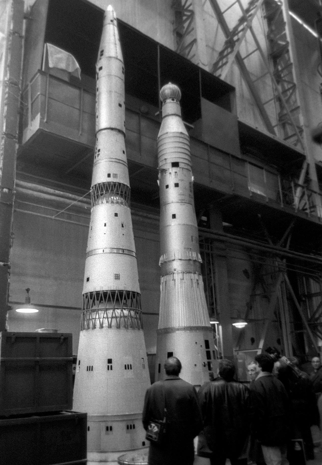 """Моделът на ракетата Н-1. Снимка: РИА """"Новости"""""""