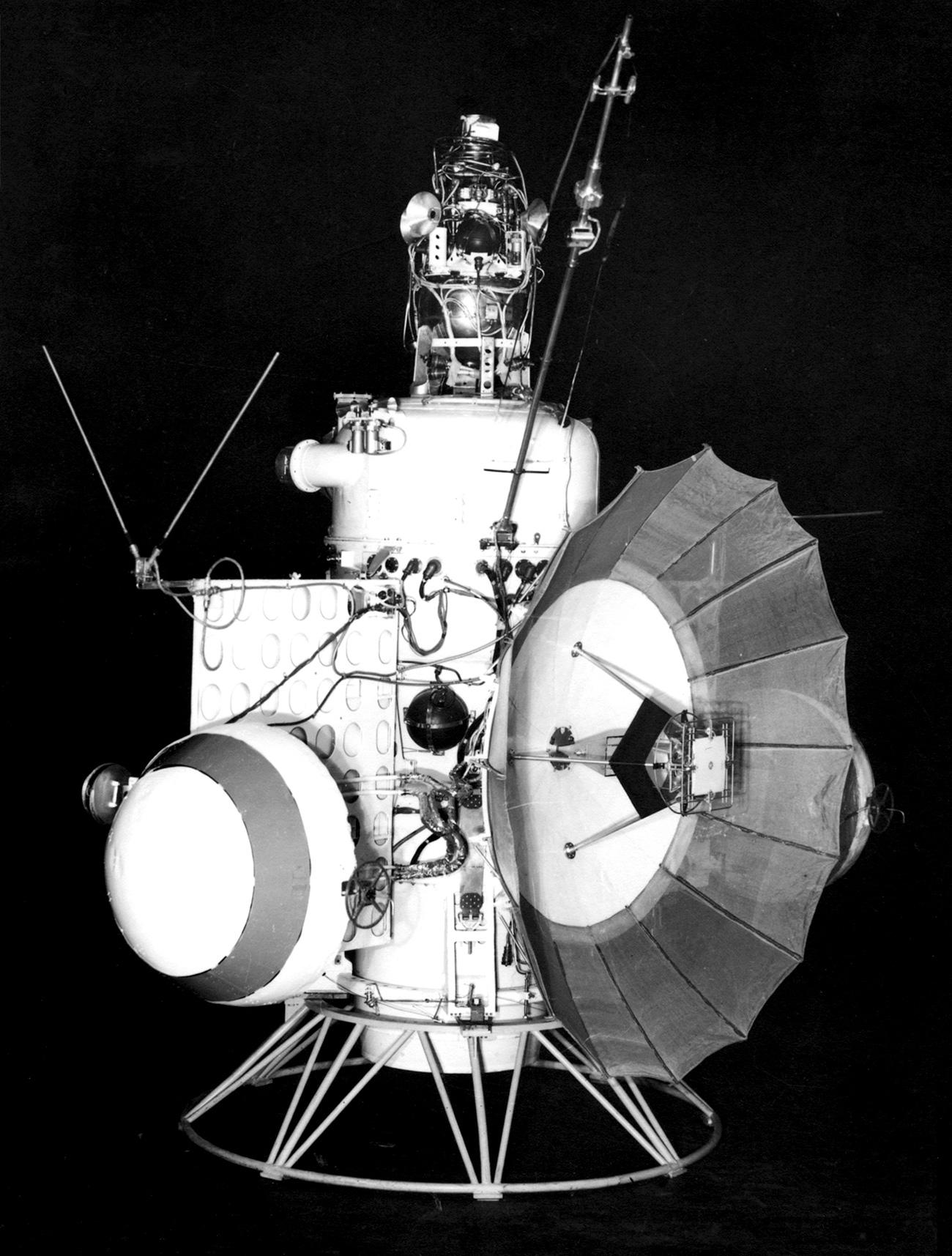 Изпитанията на Марс-1, 1 ноември 1962 г. Снимка: ТАСС /