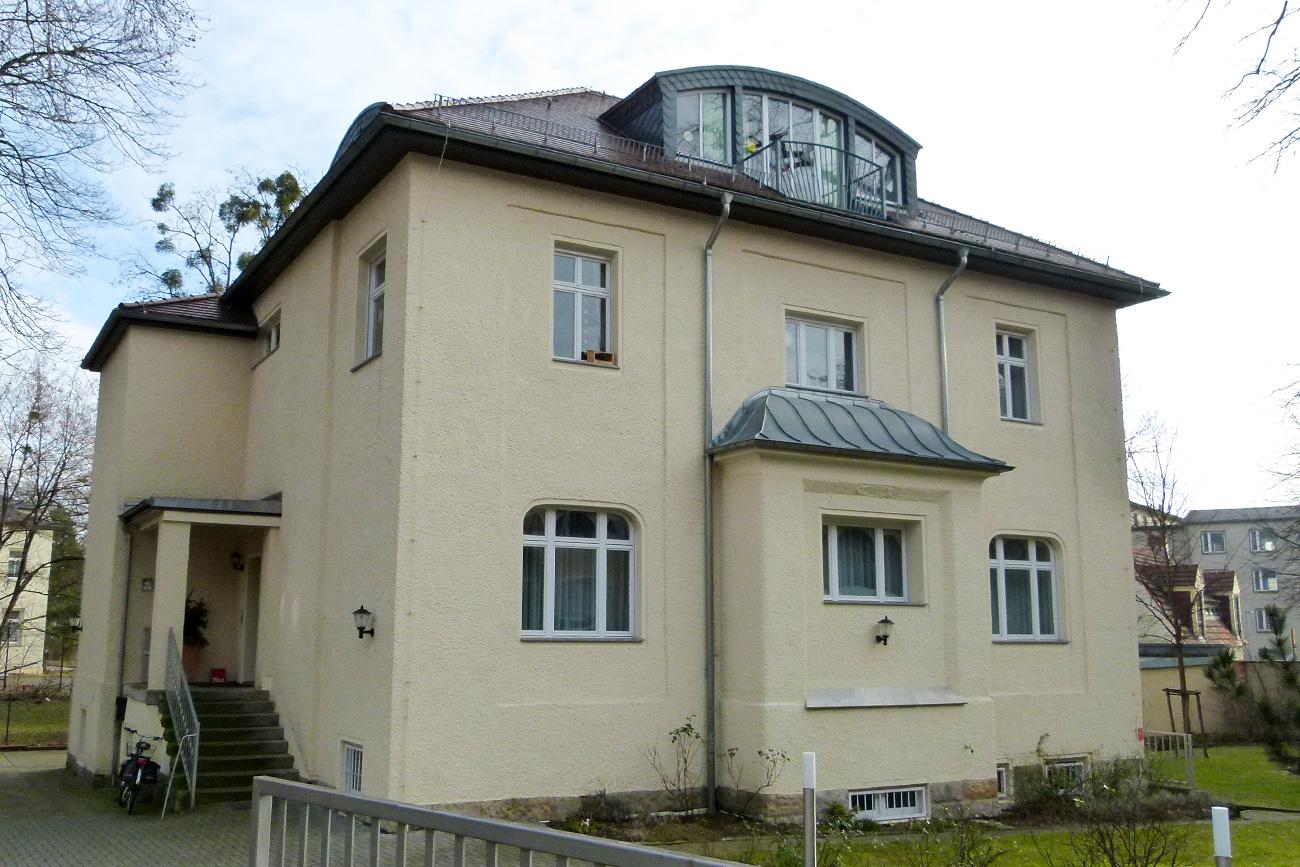 Résidence du KGB à Dresde.