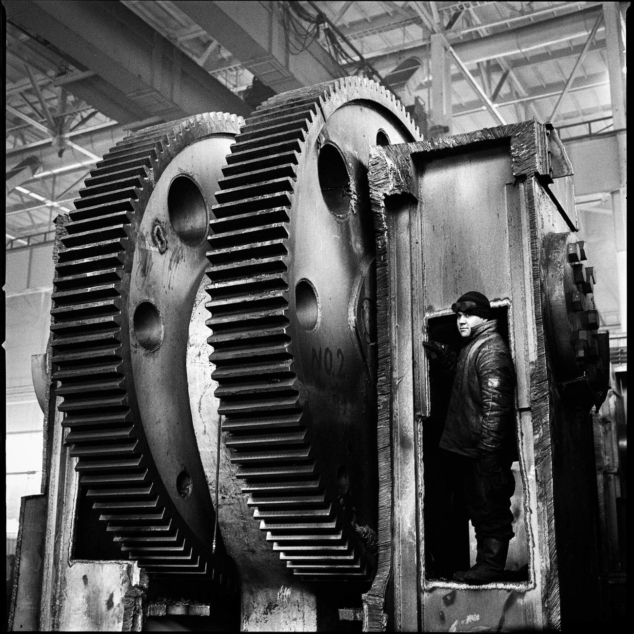 Oggi le officine della fabbrica sono state smantellate, e la storia dell'impianto rivive solo attraverso le fotografie