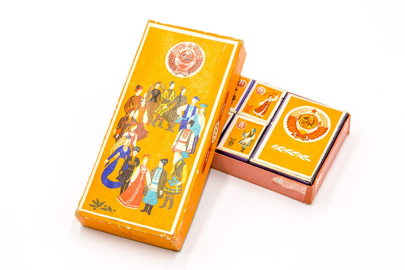 Matchboxes dedicated to nationalities of USSR / Igor Rodin