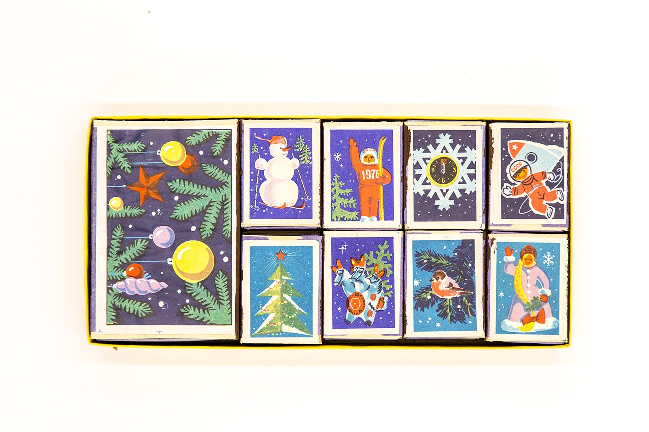 New Year inspired matchboxes / Igor Rodin