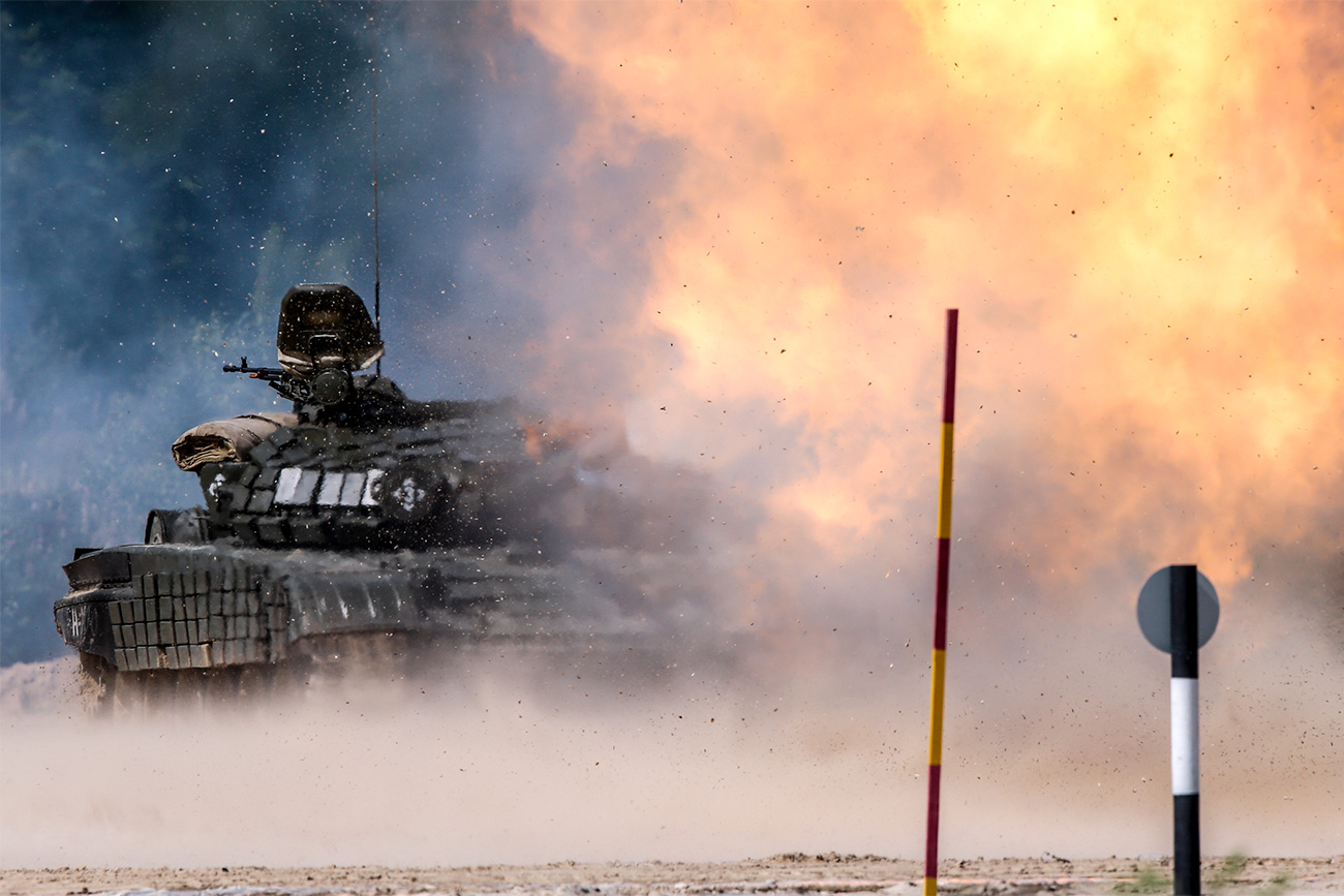 Who doesn't love the smell of gunpowder and diesel in morning. Well, soldiers from a total of 28 countries certainly do, not to mention the thousands of civilians who watched the third Military Games simultaneously taking place in Russia, China, Kazakhstan, and Belarus.