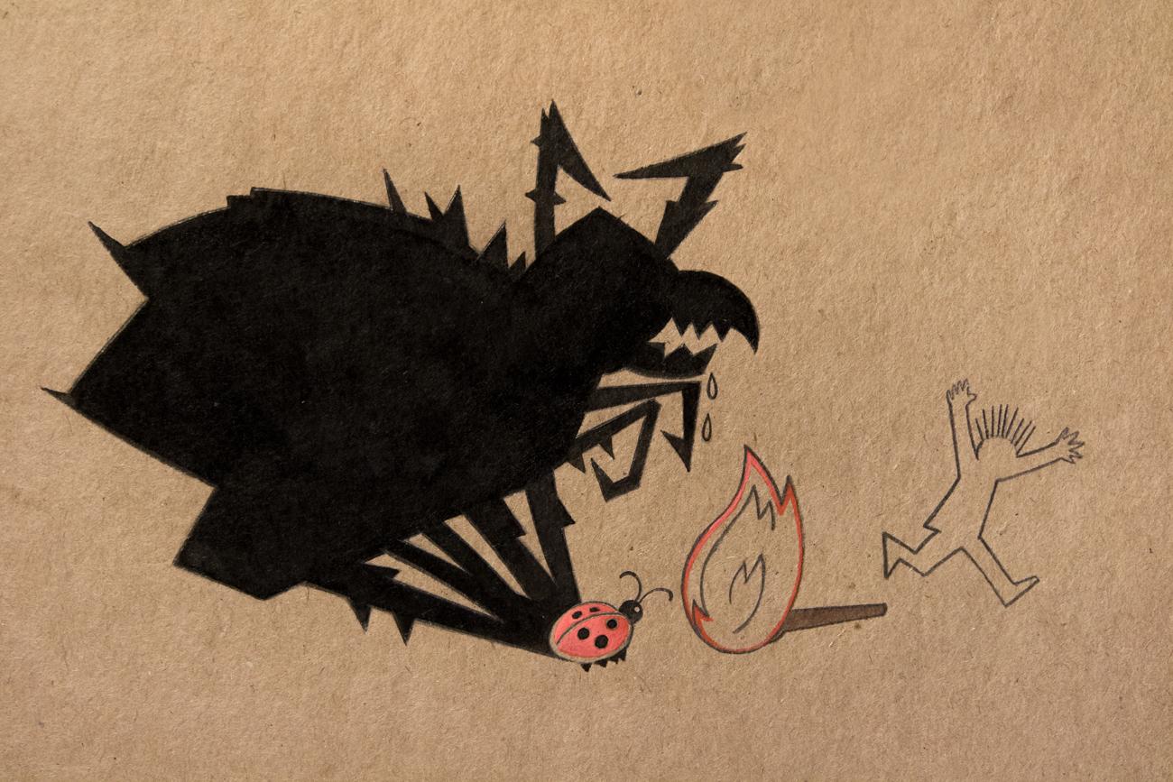 Drawing by Ilya Ogarev