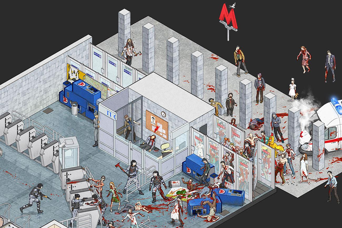 Apocalipsis zombi.