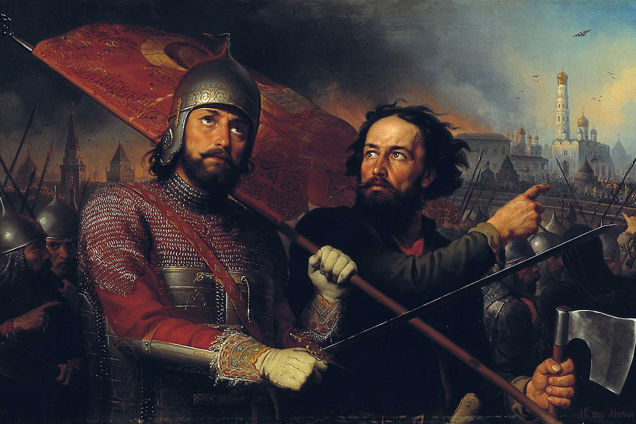 Kuzma Minin and Dmitriy Pozharskiy