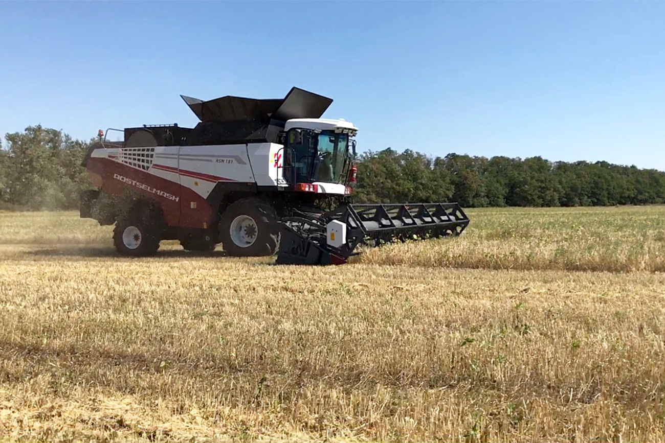 Russlands erste autonome Agrarmaschine