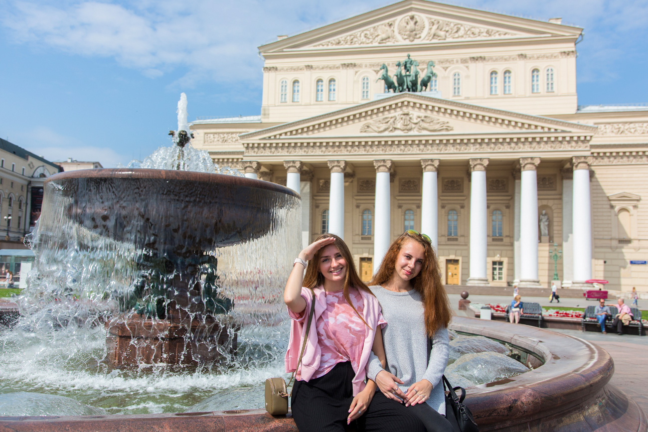 "Julia, 20 (left) with her sisterJulia: Men try to talk to me quite often. The most memorable time was when a young man held the closing doors of a Metro train so I could enter. He then told me: ""For you, I would have held this door forever."" It was very sweet.We didn't exchange numbers because I already had a boyfriend. Foreigners often smile at me, tell me I'm beautiful, but never go any further. I don't mind them doing this; especially Italians because they do not conceal their emotions and they are very interesting to talk to.Instagram:e_r_o_s_h_i_k"