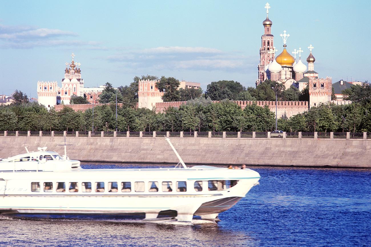 El hidroala soviético Raketa, Moscú.
