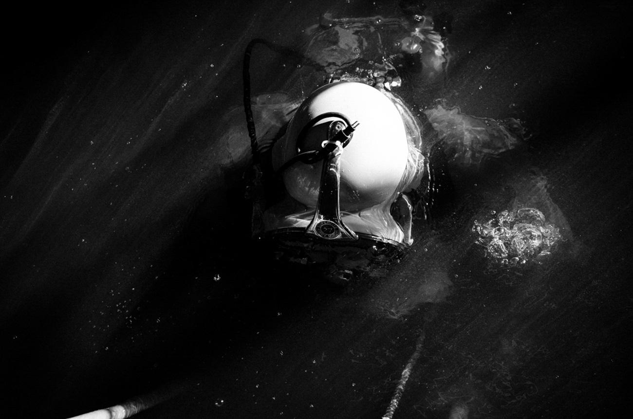 The immersion. / Artem Protsyuk