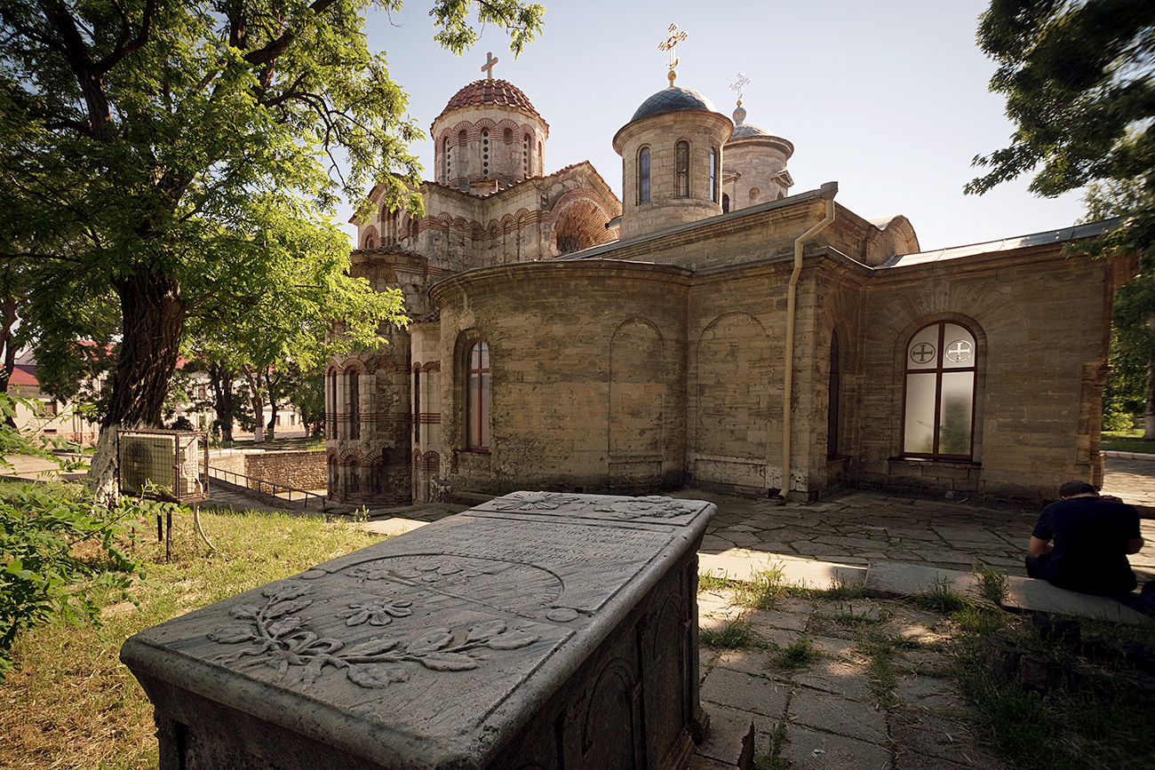 The Church of Saint John the Baptist in Kerch.