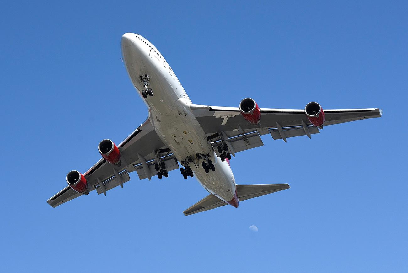 El Boeing 747-400. Fuente: Bob Riha, Jr./Getty Images