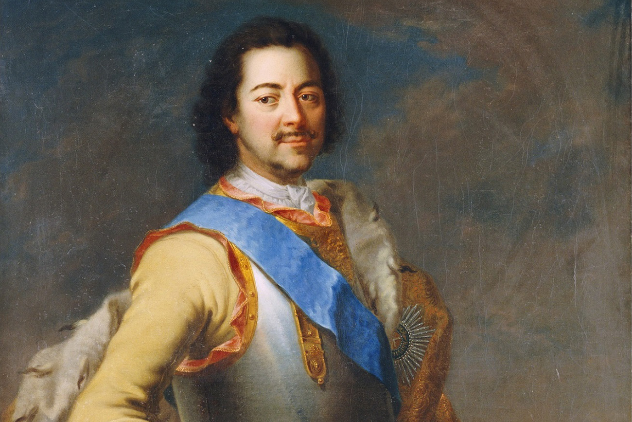 Portrait of Peter I of Russia (1672-1725)