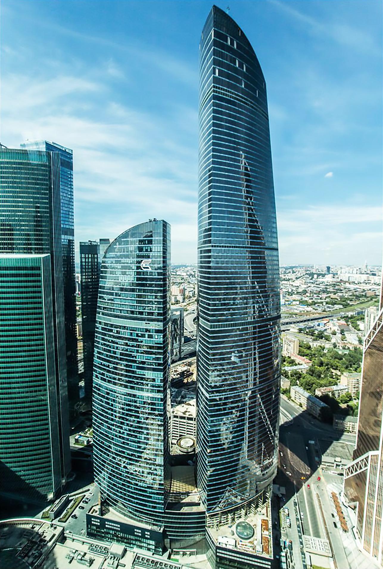 La torre Federación de Moscú / Igor3188(CC BY-SA 4.0)