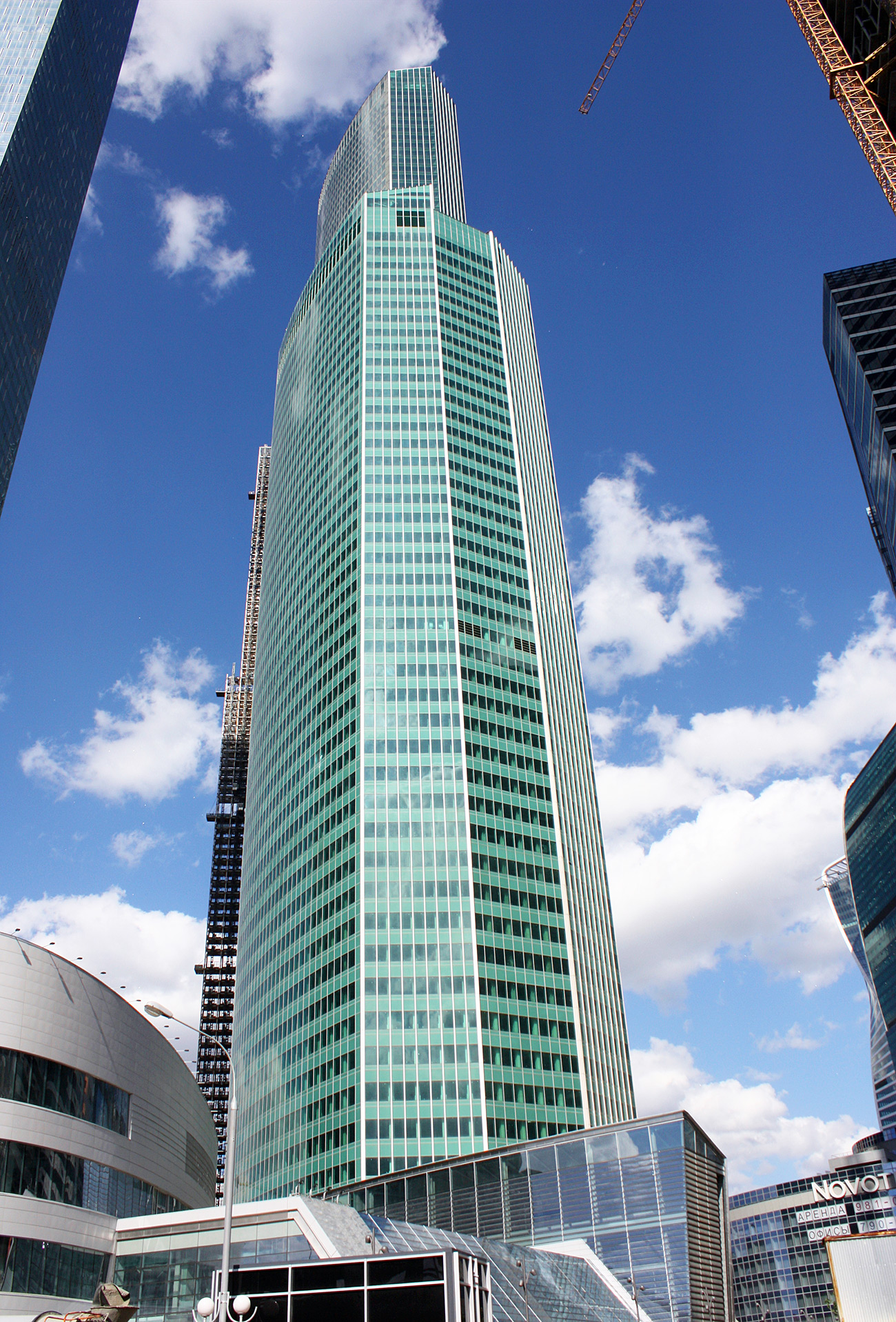 La torre Eurasia, Moscú / Legion Media