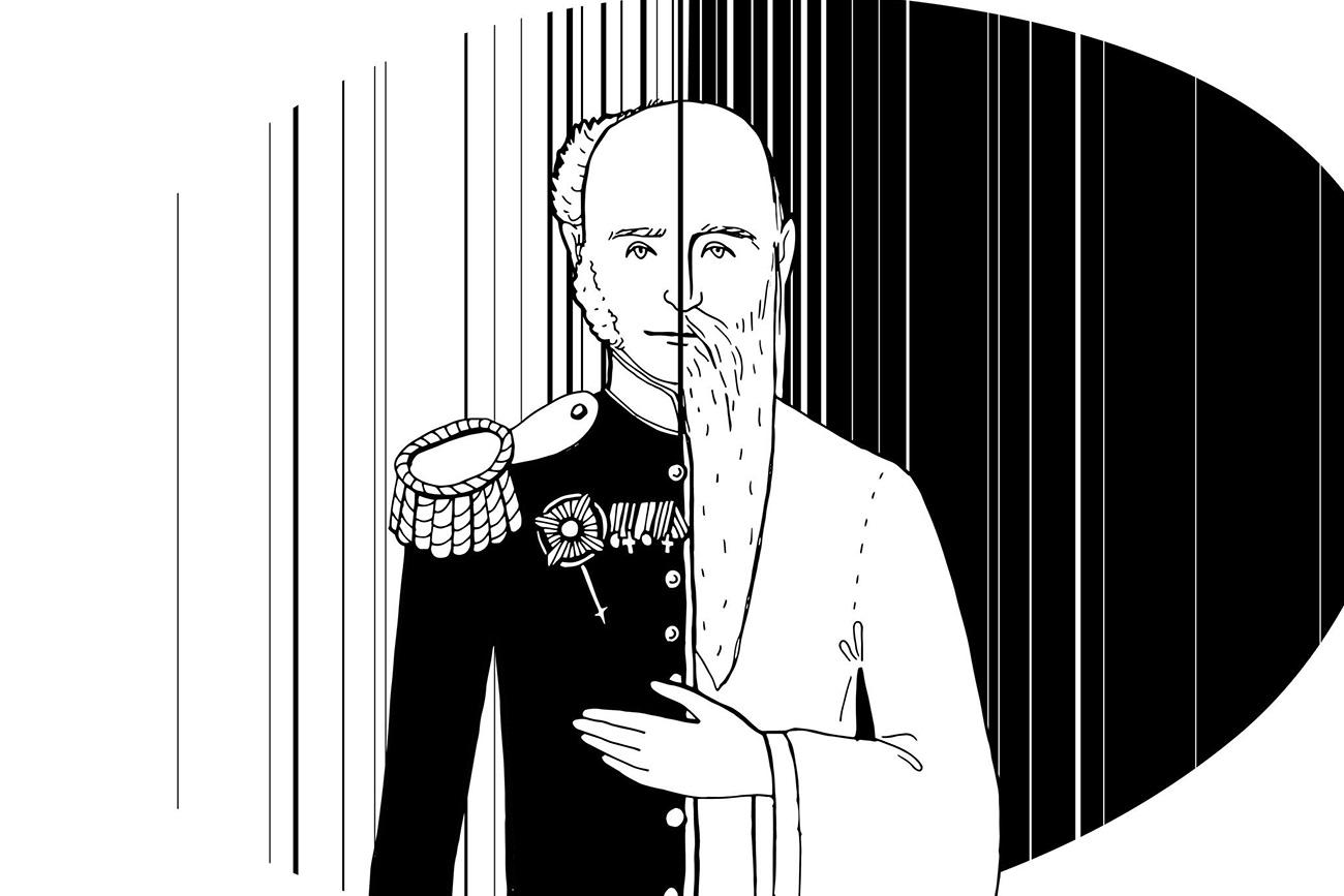 Aleksandr 1º ou Fiódor Kuzmitch? Homem misteriosoera idêntico ao falecido imperador, segundo relatos