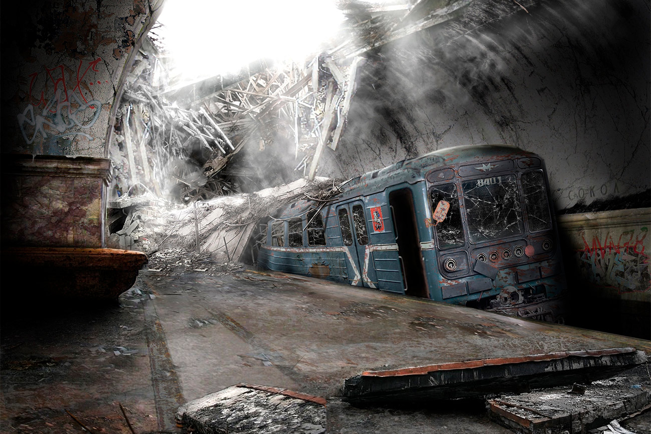 Ghost Car Crash Russia