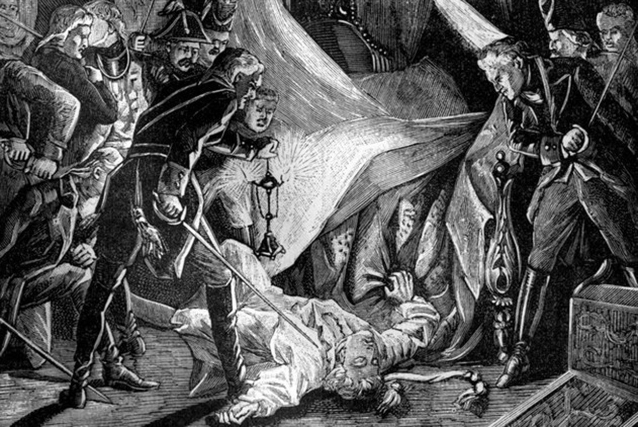 Murder of Tsar Paul I of Russia, March 1801 (1882-1884)