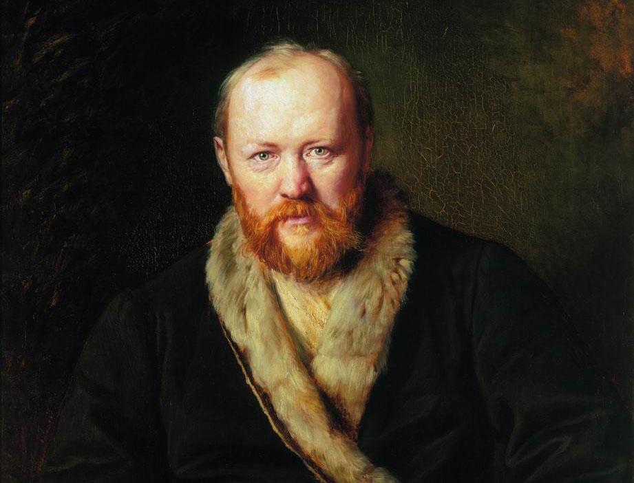 Portrait of Alexander Ostrovsky by Vasily Perov / State Tretyakov Gallery