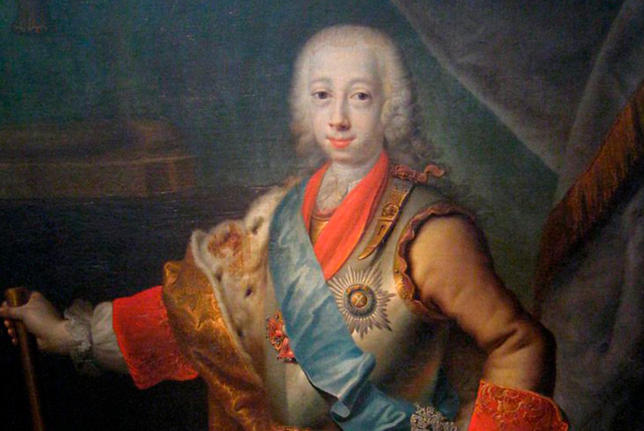 Peter III. / State Tretyakov Gallery