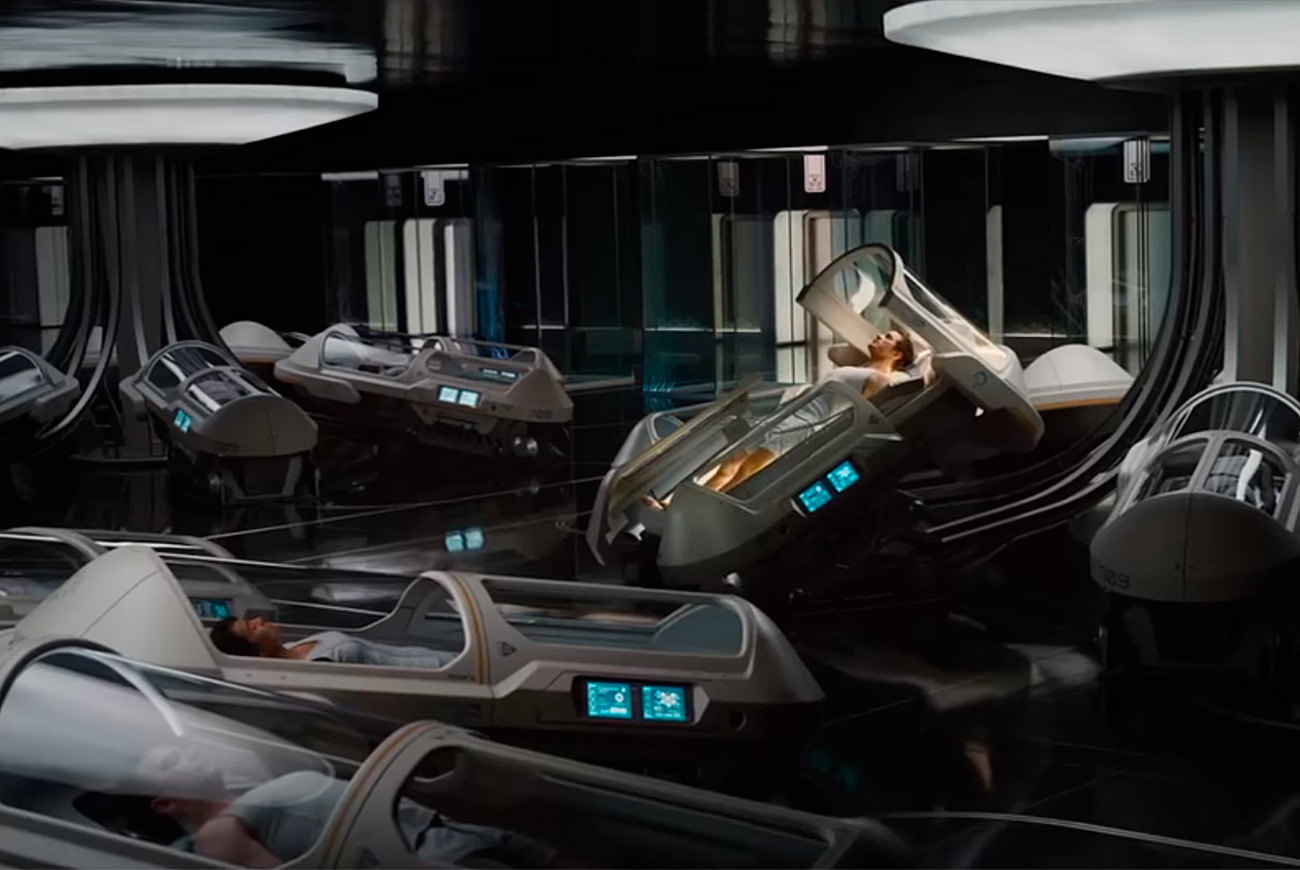 screenshot film The Passengers
