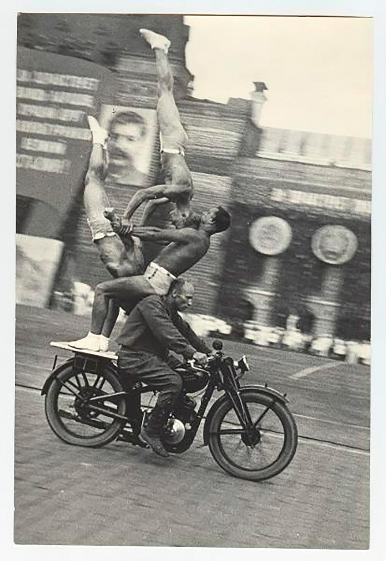 """La tradizione delle parate sportive """"morì"""" con la morte di Stalin nel 1953"""