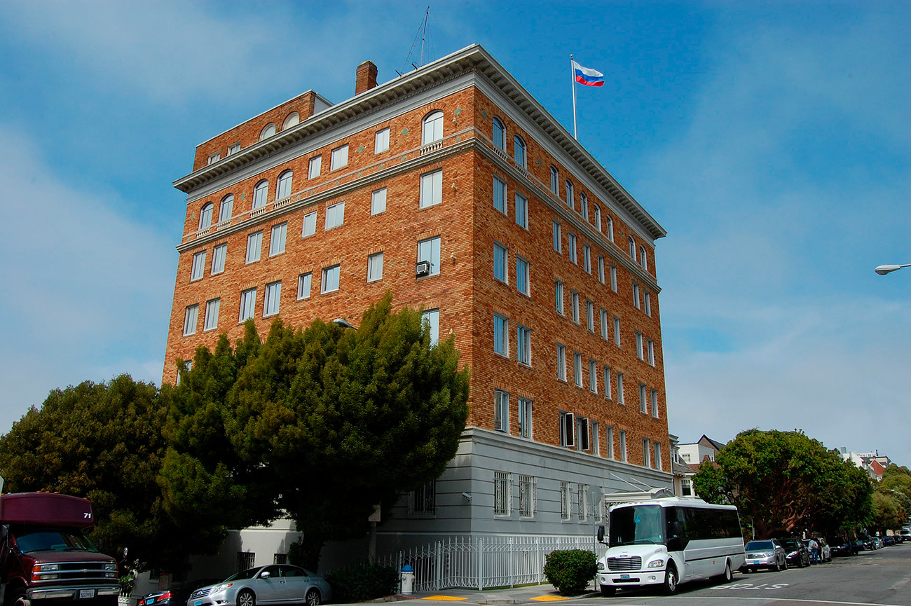 """The rocky history of the Russian Consulate in San Francisco began when Pavel I appointed William Montgomery Steward as Russian vice-consul on the American West Coast."""
