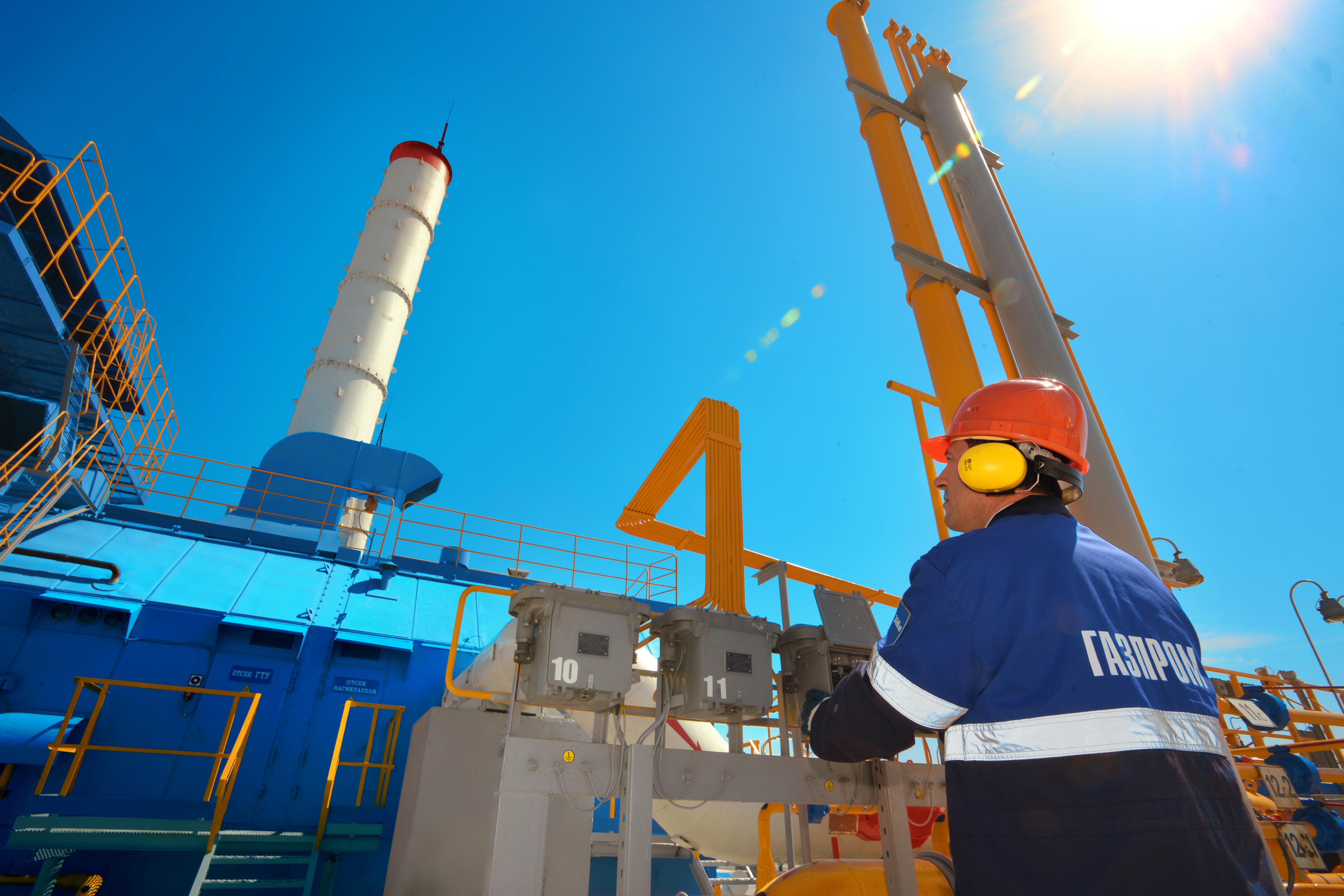 """""""Газпром"""" оценява изцяло оптимистично резултатите от първия търг за продажба на газ."""