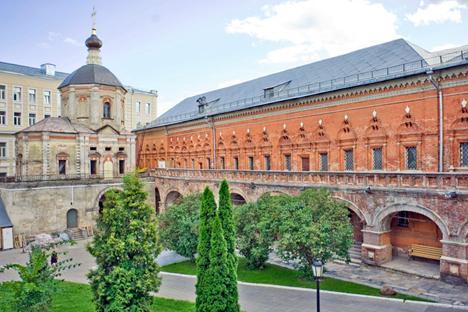 The Upper Petrovsky (Vysoko-Petrovsky) Monastery.