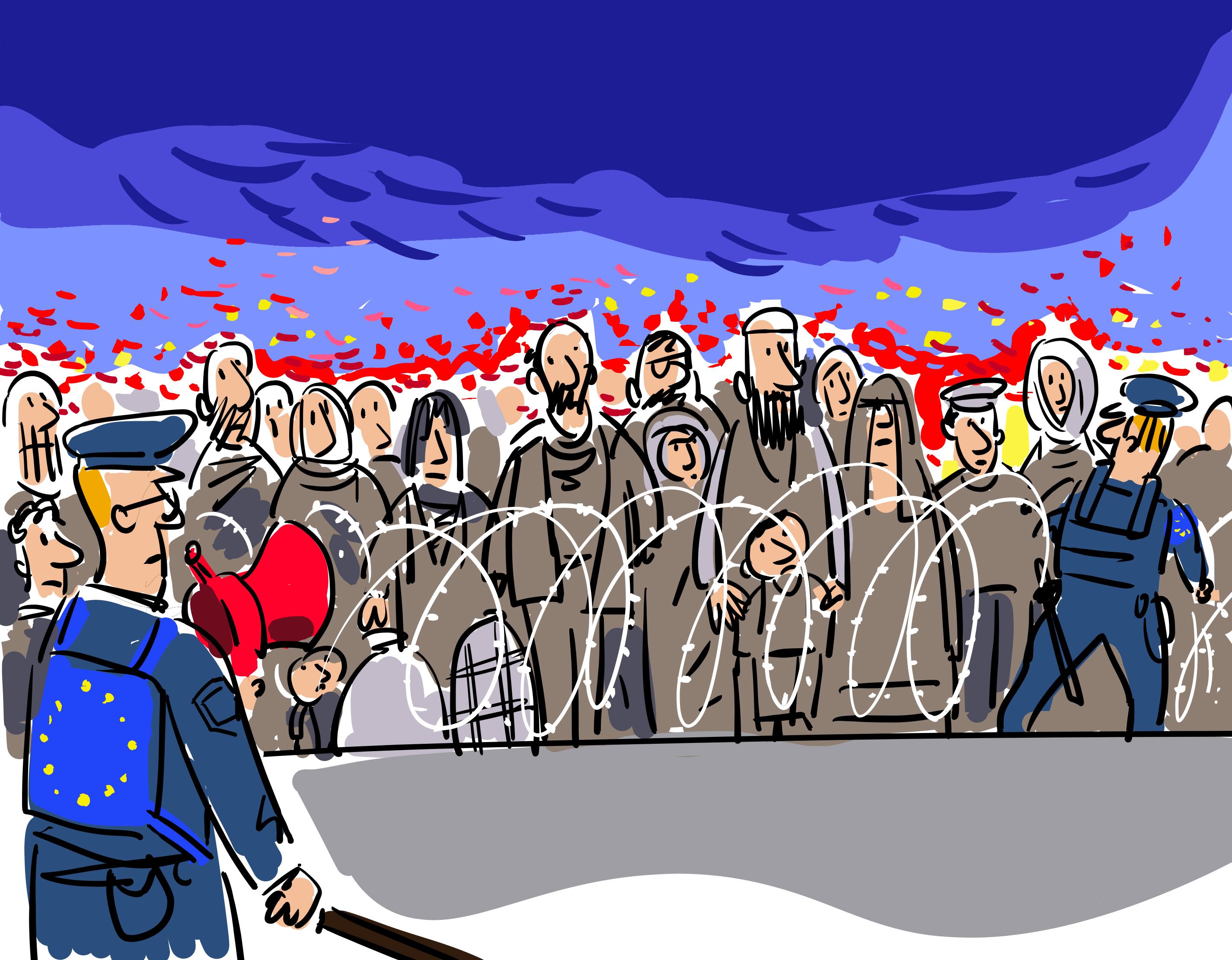 Сегашните миграционни процеси носят глобален характер и практически всички страни в Европа са засегнати от тях.