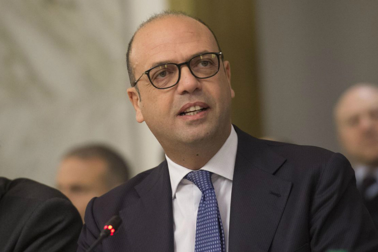 Italian Foreign Minister - Angelino Alfano.