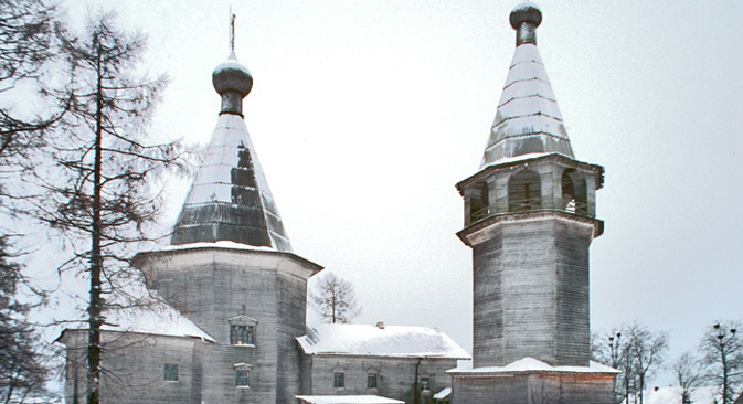 The Church of the Epiphany at the village of Oshevensk.