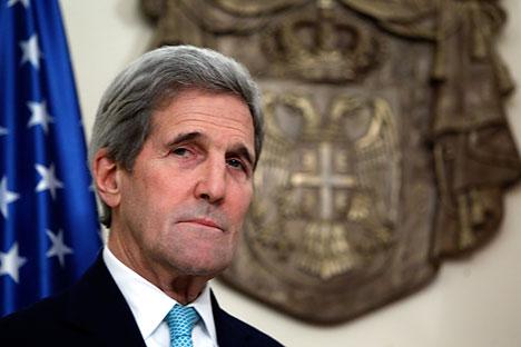 Menteri Luar Negeri Amerika Serikat John Kerry.